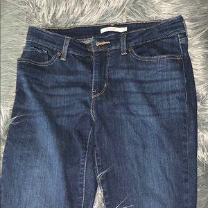 Levi Dark Bootcut Jeans